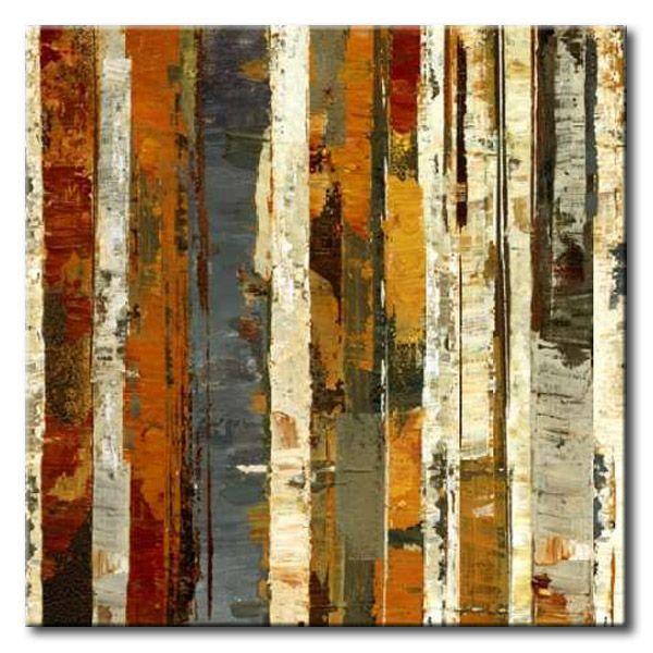 32 dol70 red amber i cuadro abstracto franjas verticales cuadros abstractos pinterest - Cuadros verticales modernos ...