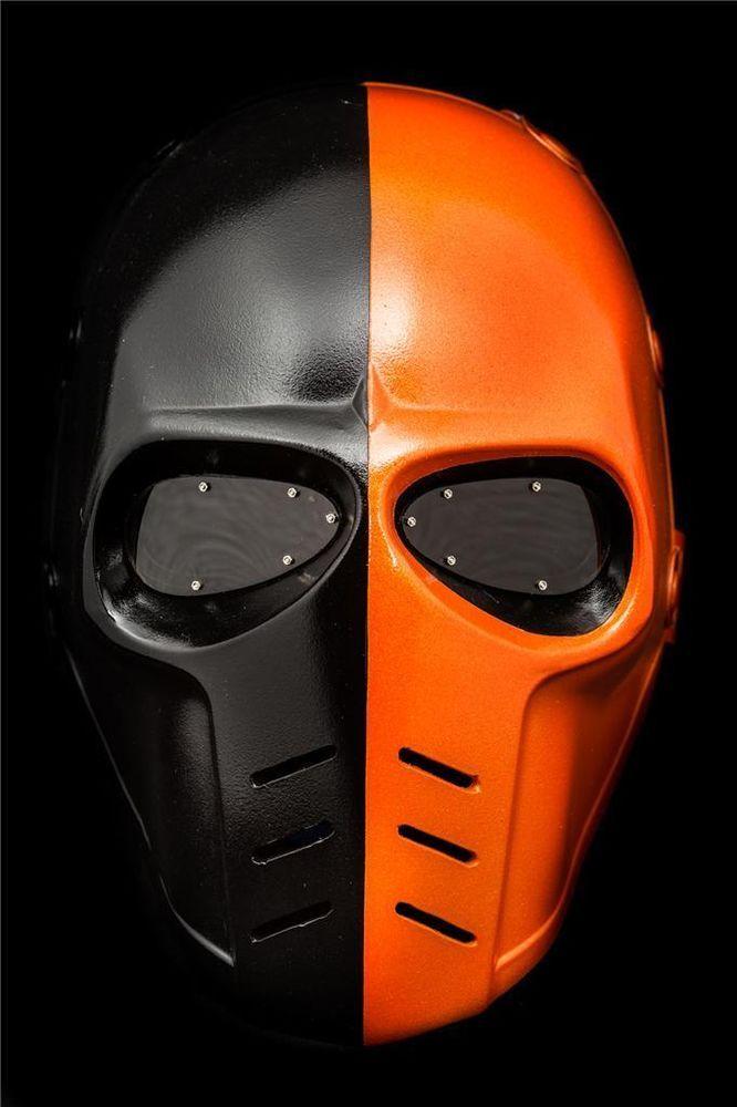 arrow deathstroke mask helmet paintball airsoft dj club