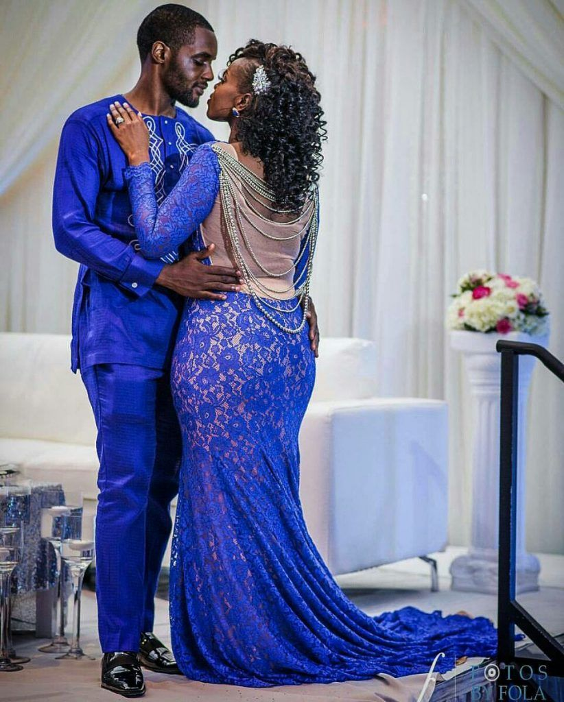 second dress for wedding reception in ghana