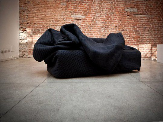 Bean Bag Style Couch With Built In Pillow And Blanket For Days You Just Wanna Curl Up A Co