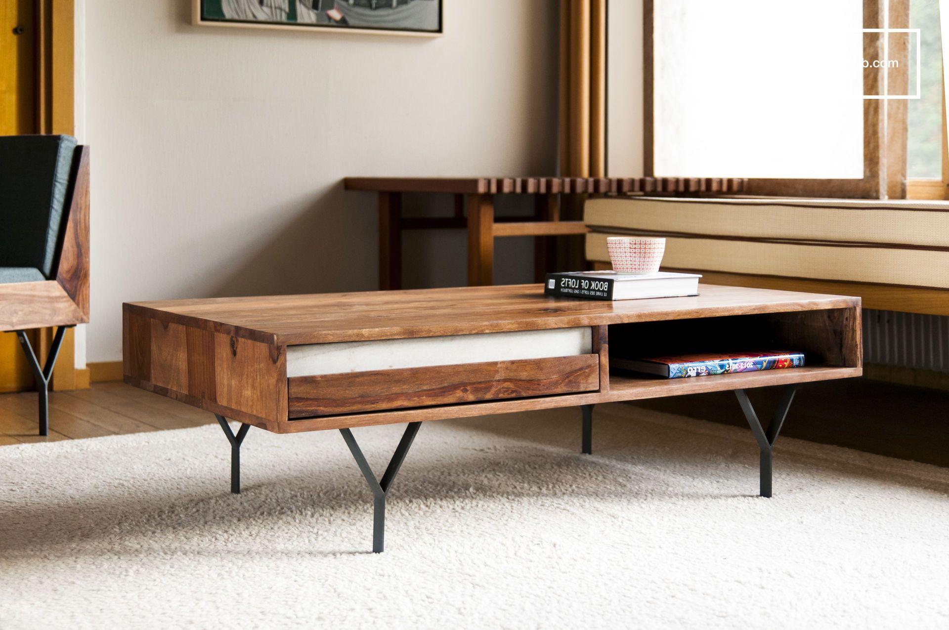 couchtisch mabillon m bel aus holz und metall pinterest dunkles holz couchtische und. Black Bedroom Furniture Sets. Home Design Ideas