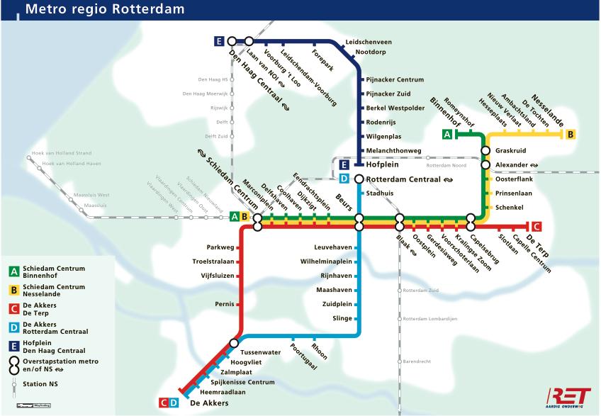 Rotterdam metro maps Pinterest Rotterdam