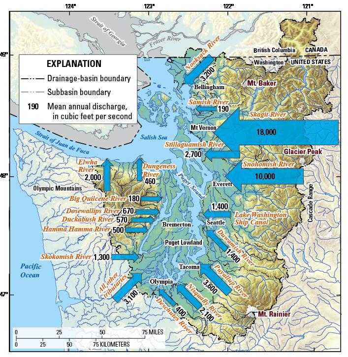 Fidalgo Island Topographic Map