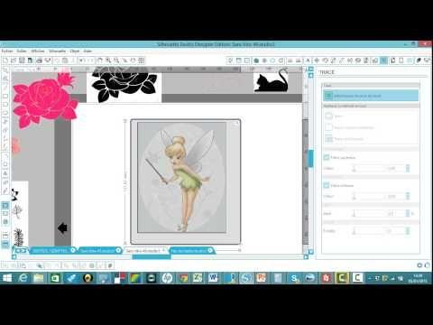 Silhouette Cameo Comment Vectoriser Une Image Simple Et