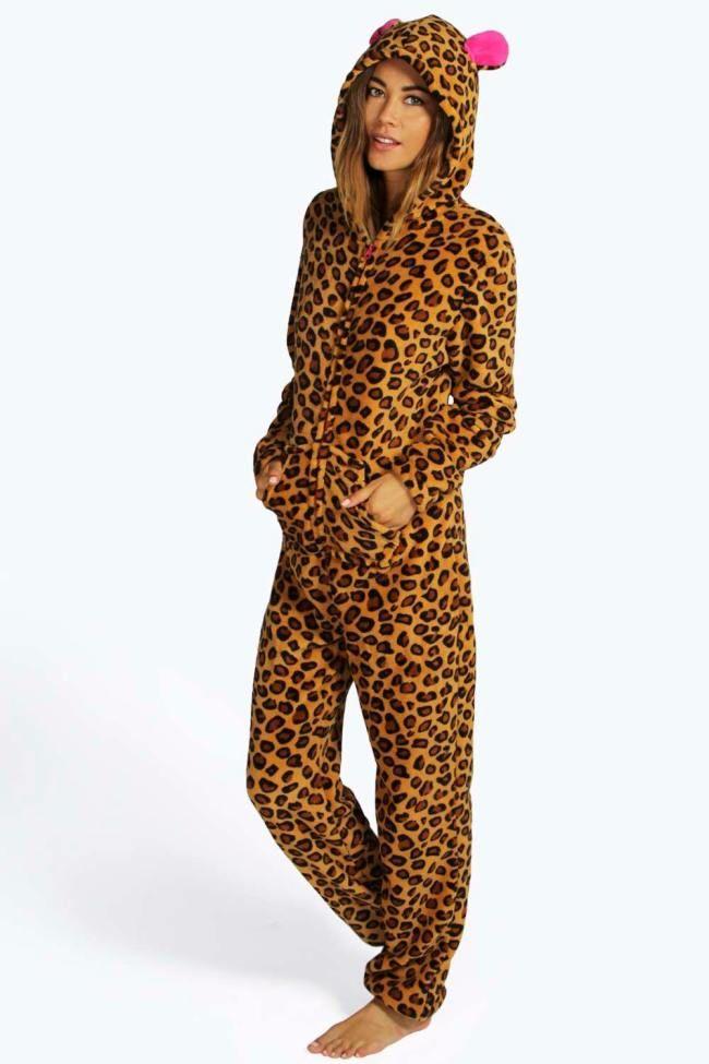 07148718b65c Womens Leopard #Onesie – Womens Onesies, Adult #Onesies, Onesies online.  #AdultOnesies #AdultOnesie
