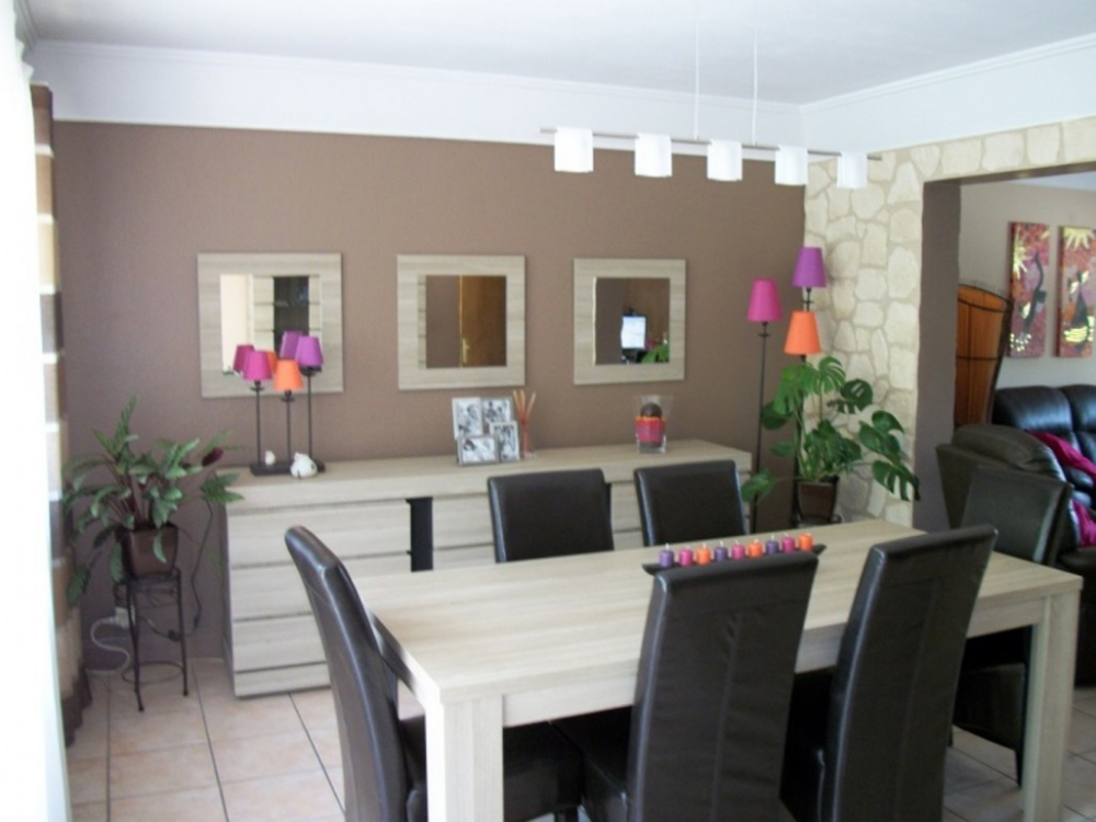 Idee Deco Salle Salon Couper Le Souffle Peinture Manger