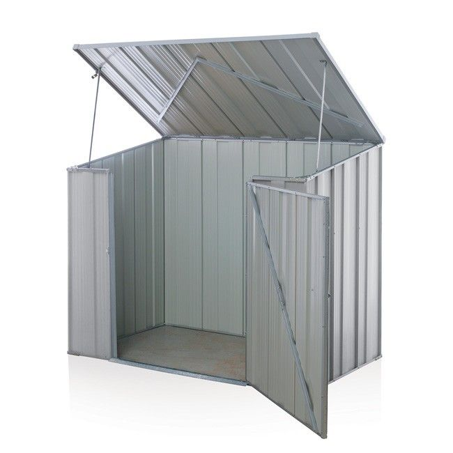 Storemate S53 Storage Unit 1 76m X 1 07m X 1 265m Zinc Pool Pump Storage Unit Cheap Sheds