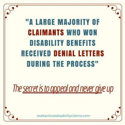 Denial Letter Canned Letter Appeal Disability Denial Social