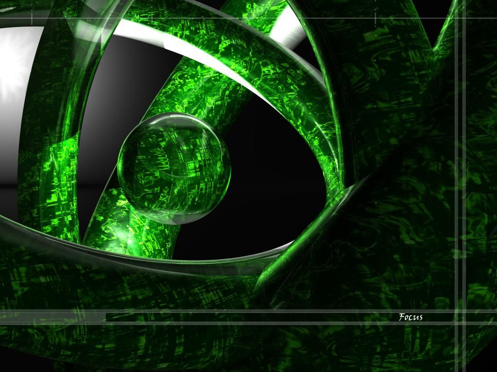 Abstract Green Gem Sphere Games Abstract Colors Shapes