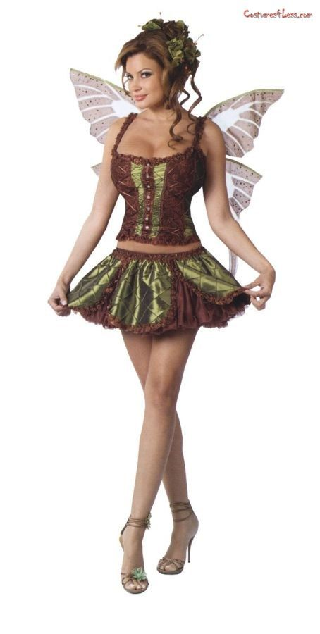 Enchanting Fairy Adult Costume [Sexy Costumes Sexy Couple Costu] - In Stock  sc 1 st  Pinterest & Enchanting Fairy! | Fairy Land | Pinterest | Fairy and Costumes
