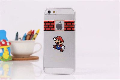 Ultra-Thin-Matte-Cartoon-Transparent-Hard-Case-Cover-for-iPhone-4S-5S-6-6Plus