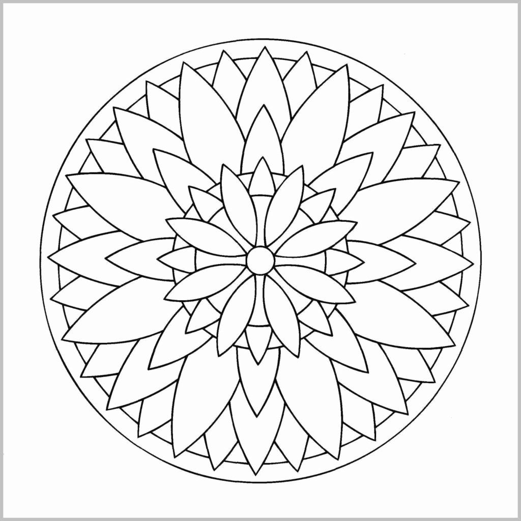 Simple Coloring Pages For Toddlers Beautiful Coloring Free Printable Easy Mandala Coloringges Animals Mandala Coloring Simple Mandala Mandala Coloring Pages