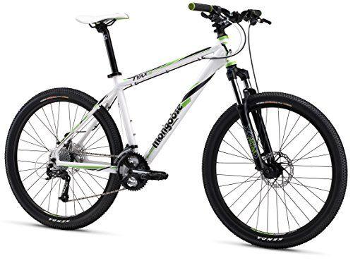 Mongoose Tyax Comp Men S Mountain Bike White 16 Small Mens