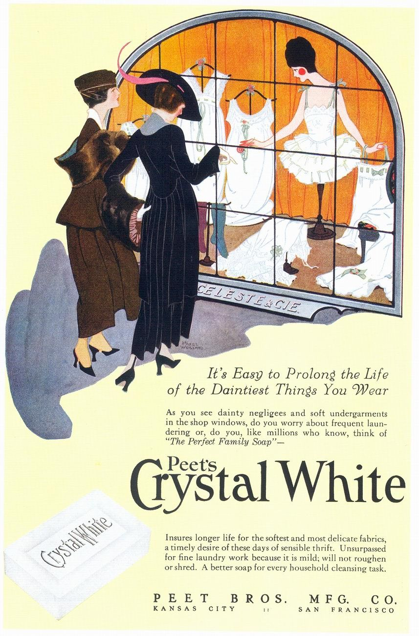 Peet's Crystal White Soap