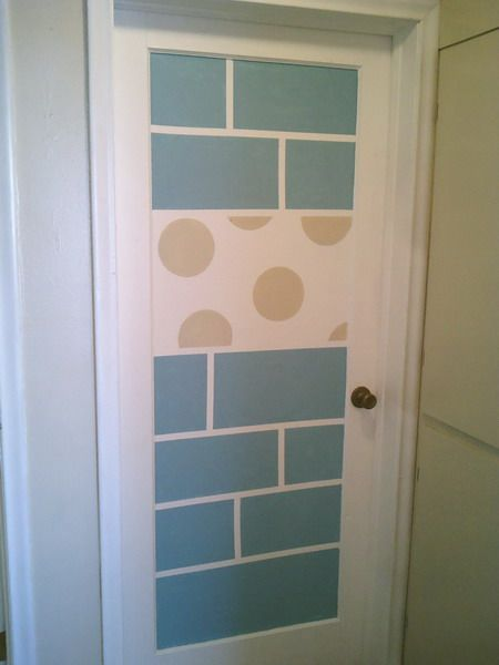 13 Creative Ideas To Paint Doors Using Stencils | Shelterness