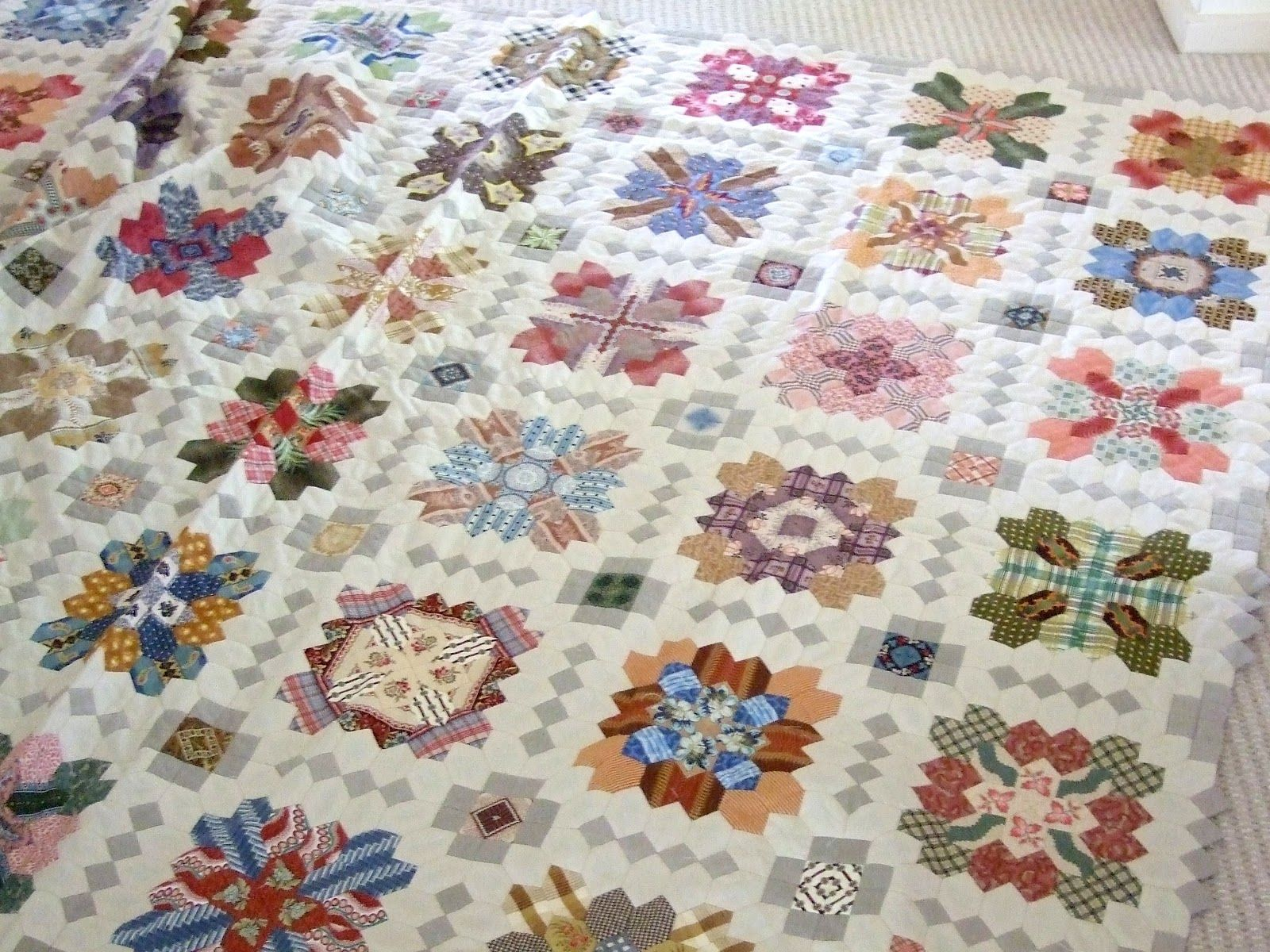 Every Stitch: Patchwork of the Crosses | Finish Lucy Boston ... : boston quilt - Adamdwight.com