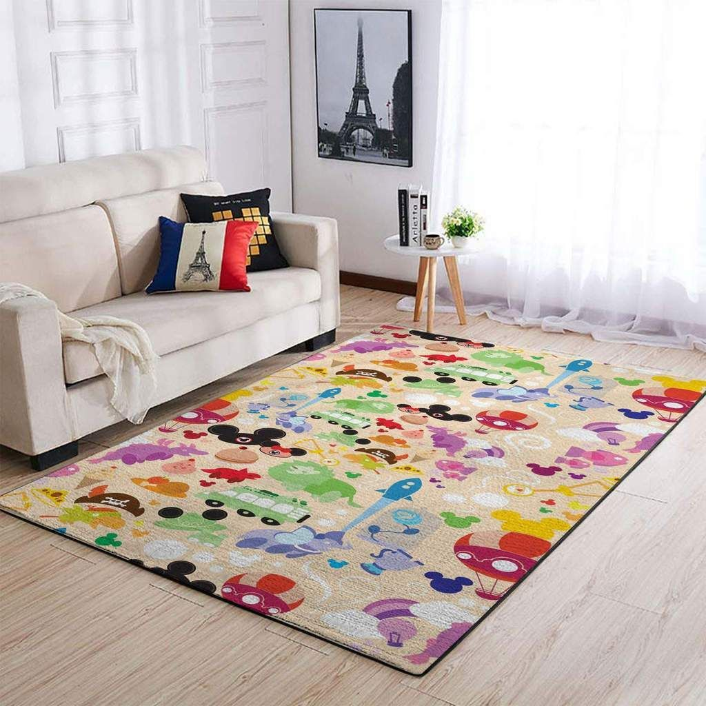 Disney Characters Area Rugs Living Room Carpet Dc91208 Christmas Gift Floor Decor Area Area Rug In 2020 Living Room Area Rugs Rugs In Living Room Living Room Carpet