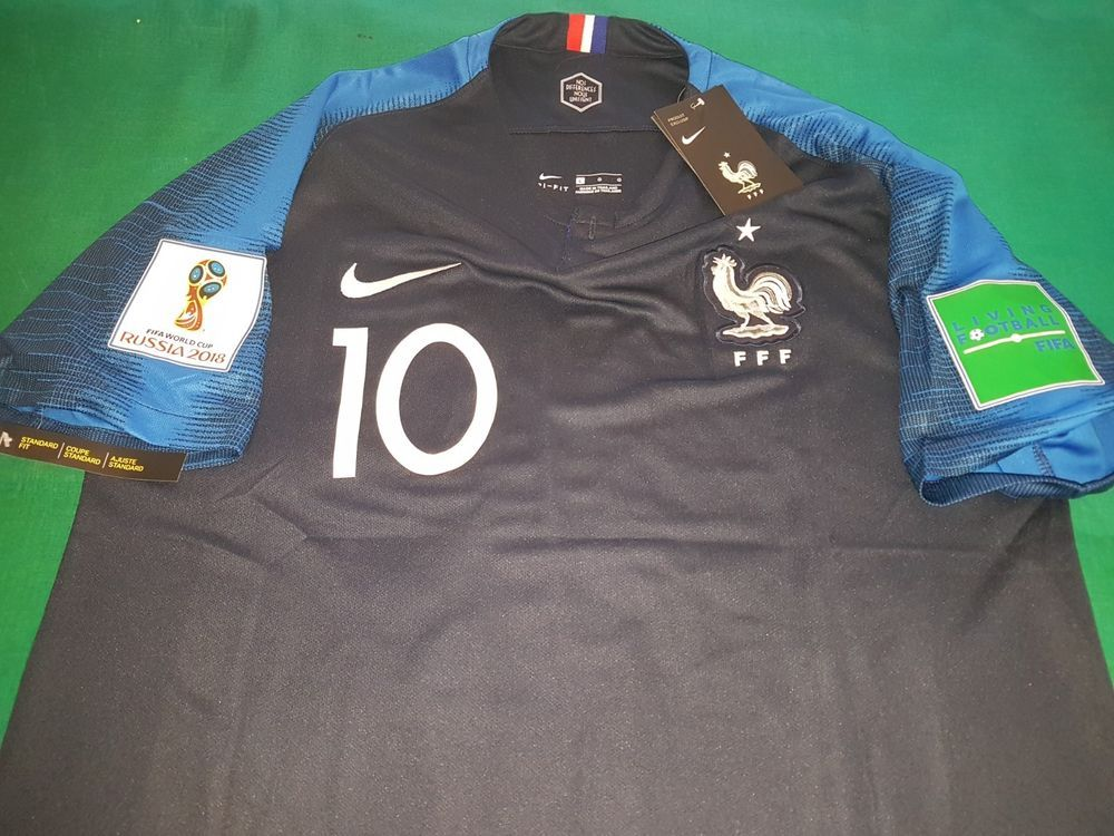 check out 03b81 c4d08 FIFA WORLD CUP FRANCE MBAPPE' 10 SOCCER JERSEY SHIRT PATCH ...