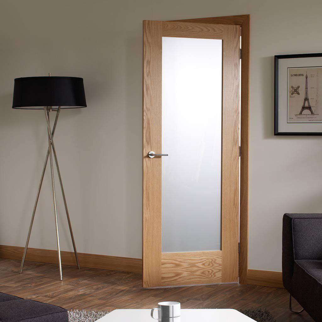 Pattern 10 Shaker Oak Door Obscure Glass Glass Doors Interior Doors Interior Frosted Glass Interior Doors