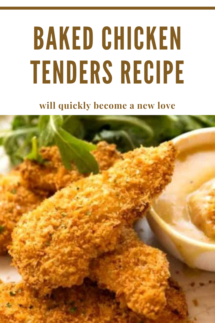 Baked Chicken Tenders   Recipes of Holly - Easy and Quick Recipes