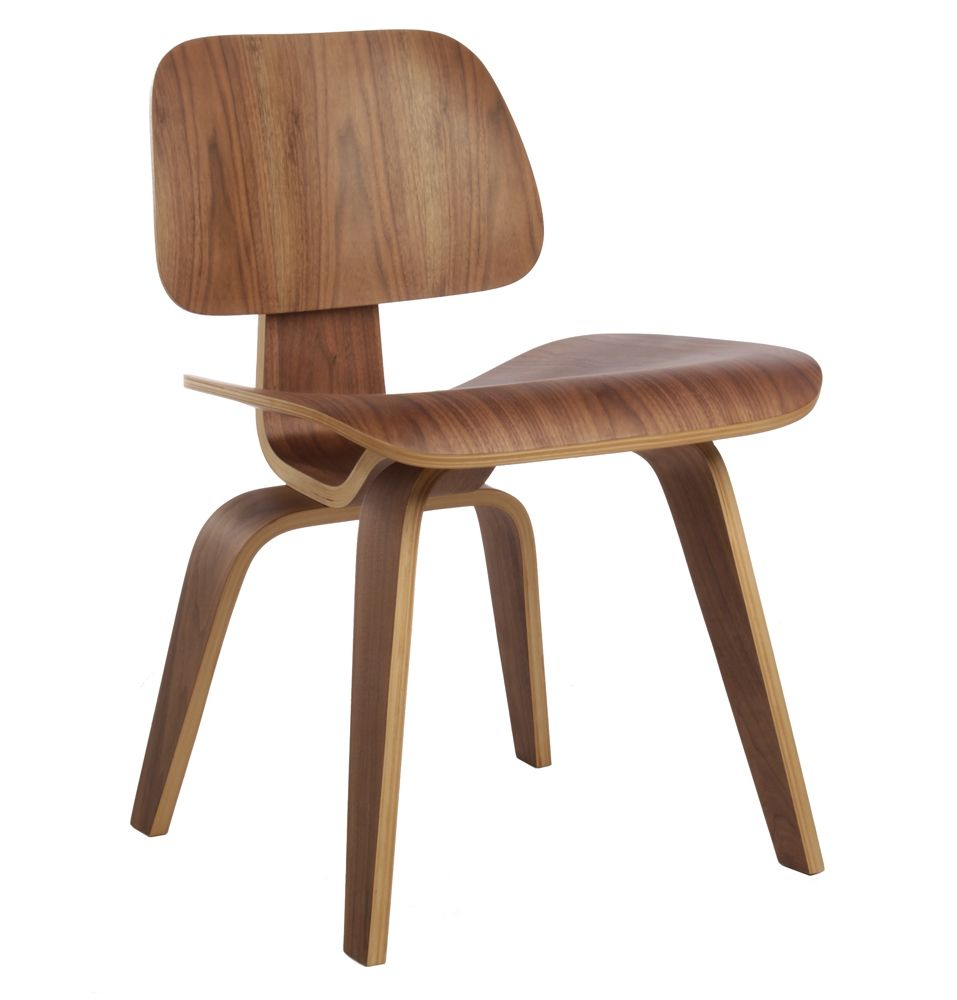 The Matt Blatt Replica Eames Dcw Dining Chair Wood By Charles And Ray