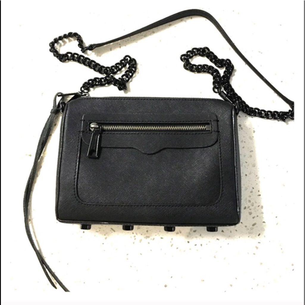 New! Rebecca Minkoff Crossbody Bag Black