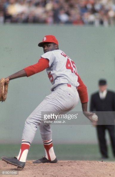 St Louis Cardinals Bob Gibson 1967 World Series