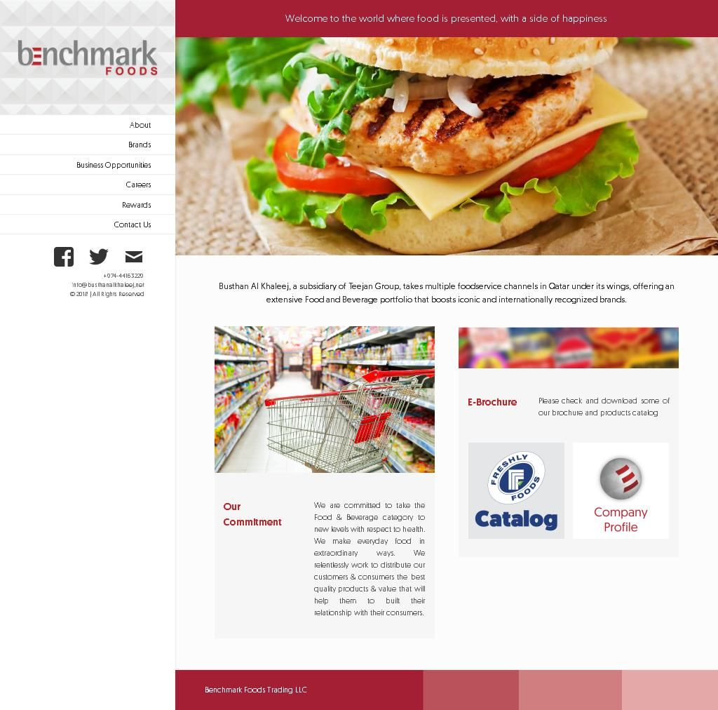 Benchmark Foodstuff Trading, Llc Platinum Business Tower, 13