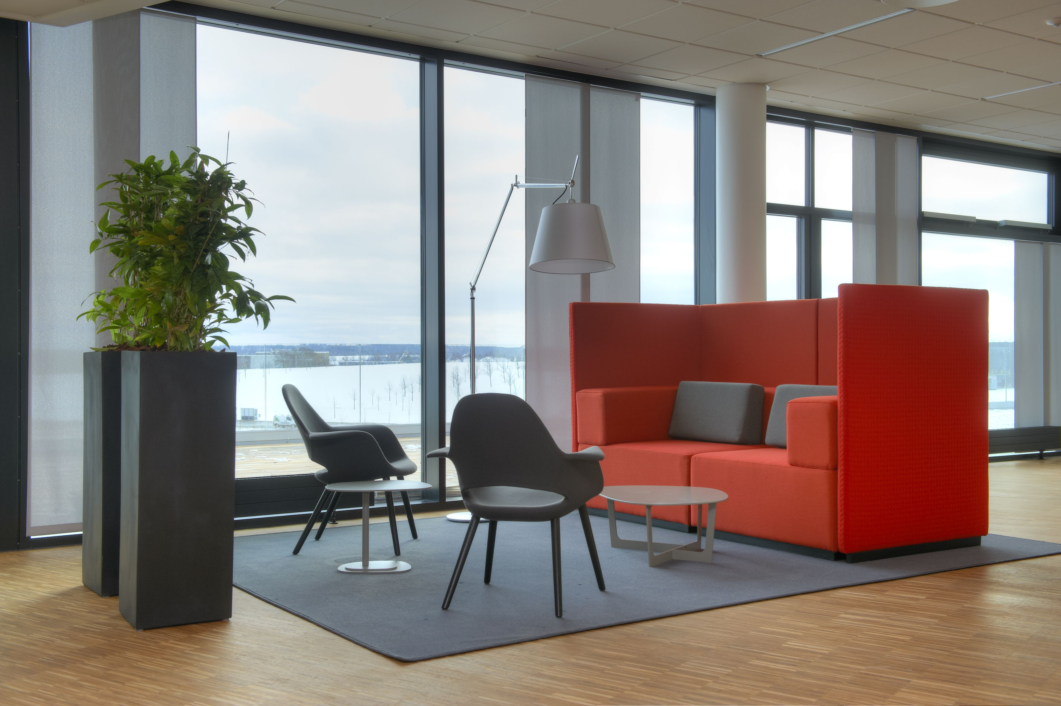 office seating area. Office Lounge And Soft Seating Area At Foss, Hillerød Denmark.