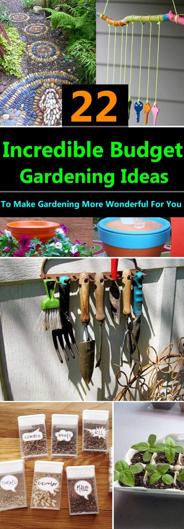 Photo of 22 Incredible Budget Gardening Ideas Garden Ideas On A Budget Balcony Garden Web