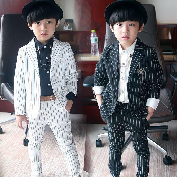 2015 NEW spring Formal Suit For Kid Blazers + Trousers 2 Pieces ...