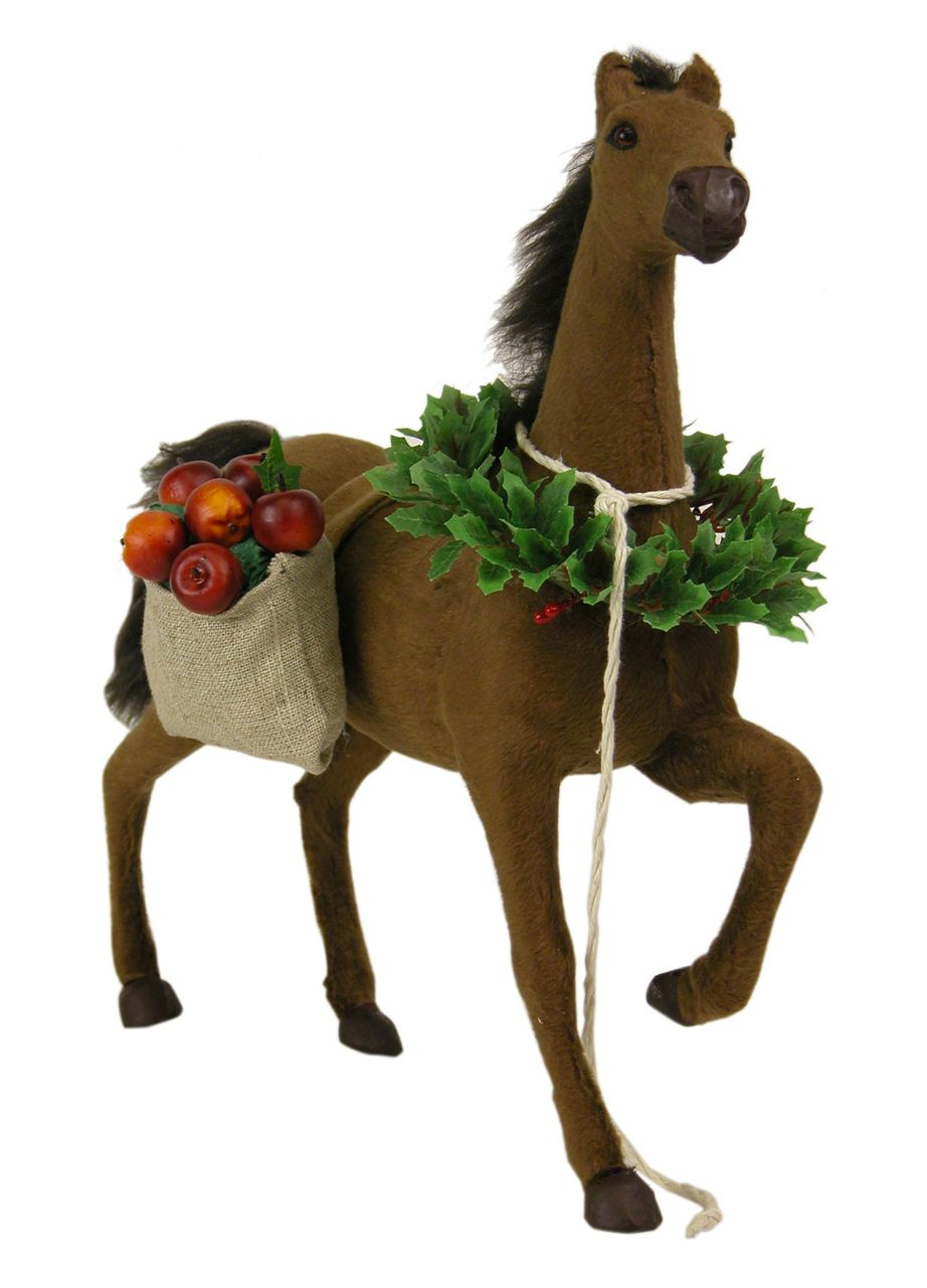 The Jolly Christmas Shop - Byers Choice Horse Bringing Christmas ...