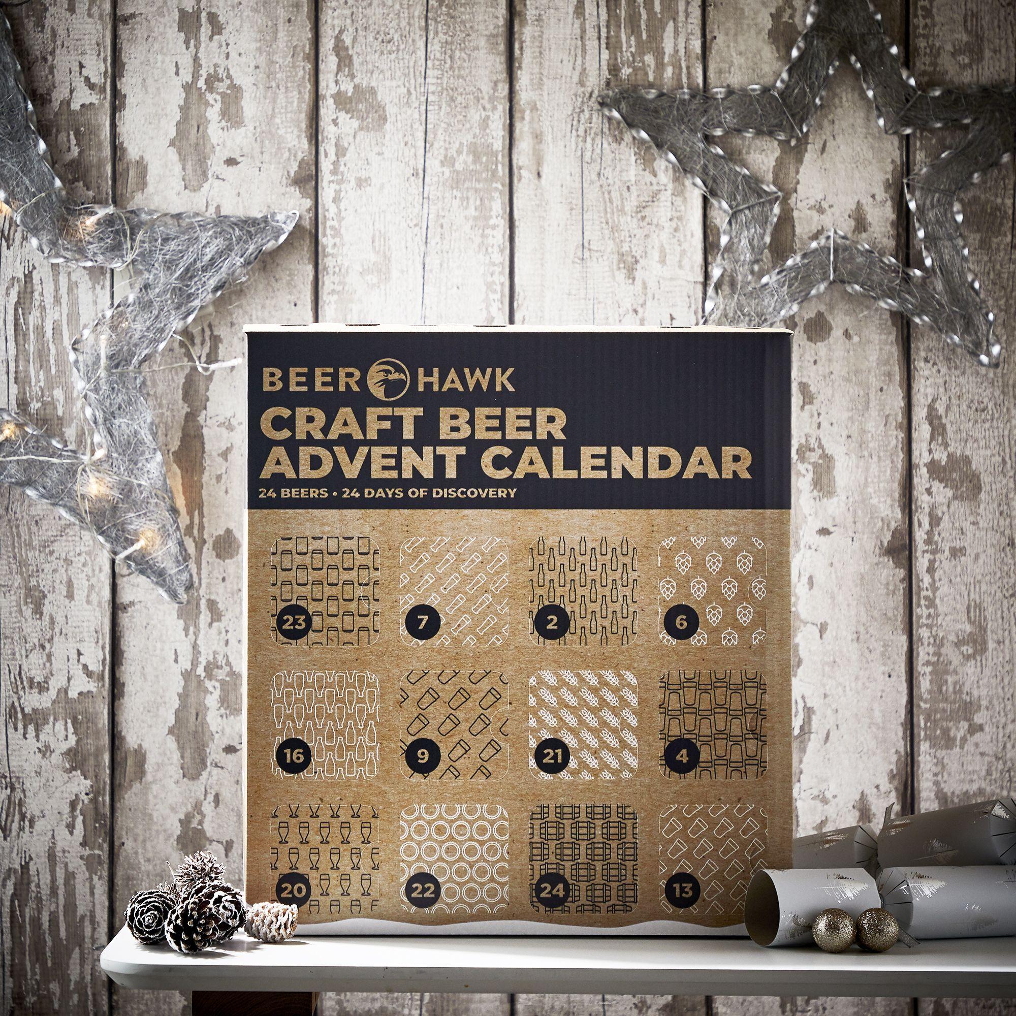 Craft Beer Advent Calendar Christmas Hamper Gift 2019