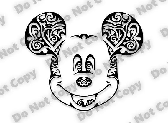 Pin By Carol Schamel On Tattoos Mickey Mouse Silhouette