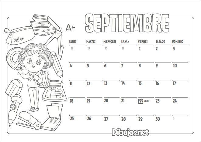 Ya está aquí el nuevo Calendario 2017 para colorear de Dibujos.net ...