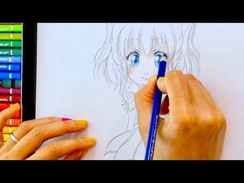 Tuto Dessin 14 Crayon De Couleurs Hana De Face 2 Peau Yeux