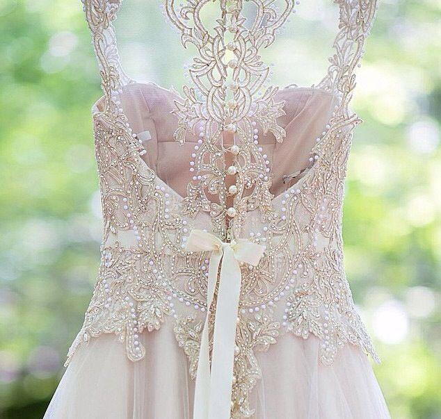 Beautiful, intricate back