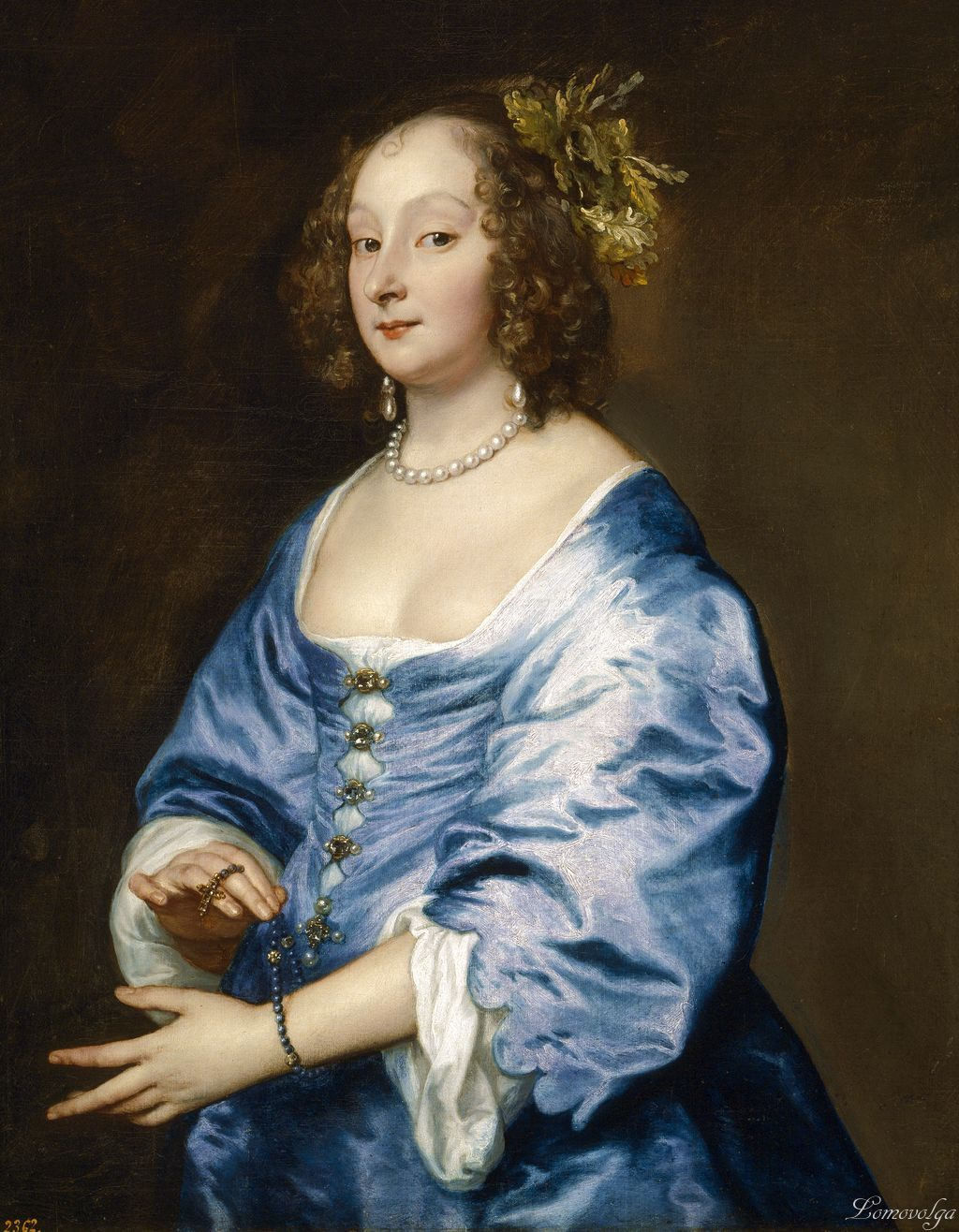 Anthony van Dyck (Flemish painter, 1599–1641) Porträt der Mary Ruthven , Lady van Dyck 1639
