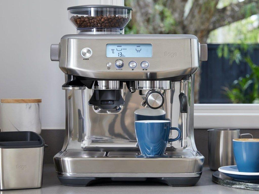 ماكينة اسبريسو بريفيل باريستا برو Breville Barista Pro سعر ومواصفات Espresso Machine Espresso Breville