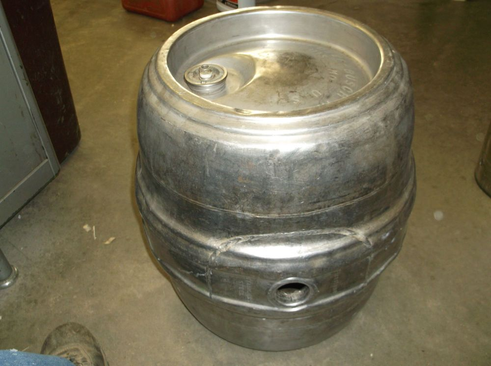Stainless Steel 15.5 GALLON BEER KEG Brewing Rat Rod Tank