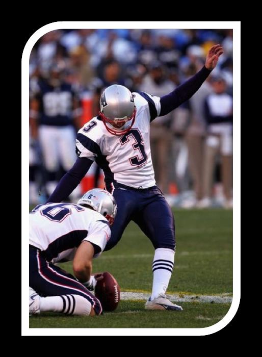 Stephen Gostkowski Bsd 06 New England Patriots Kicker England Patriots New England Patriots Kicker
