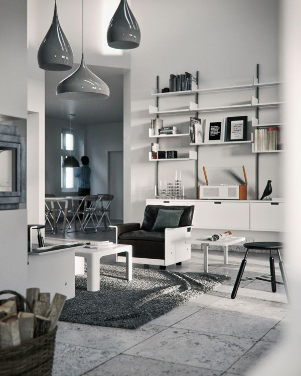 3d Interior Room Design: More 3D And An Interview With Bertrand Benoit