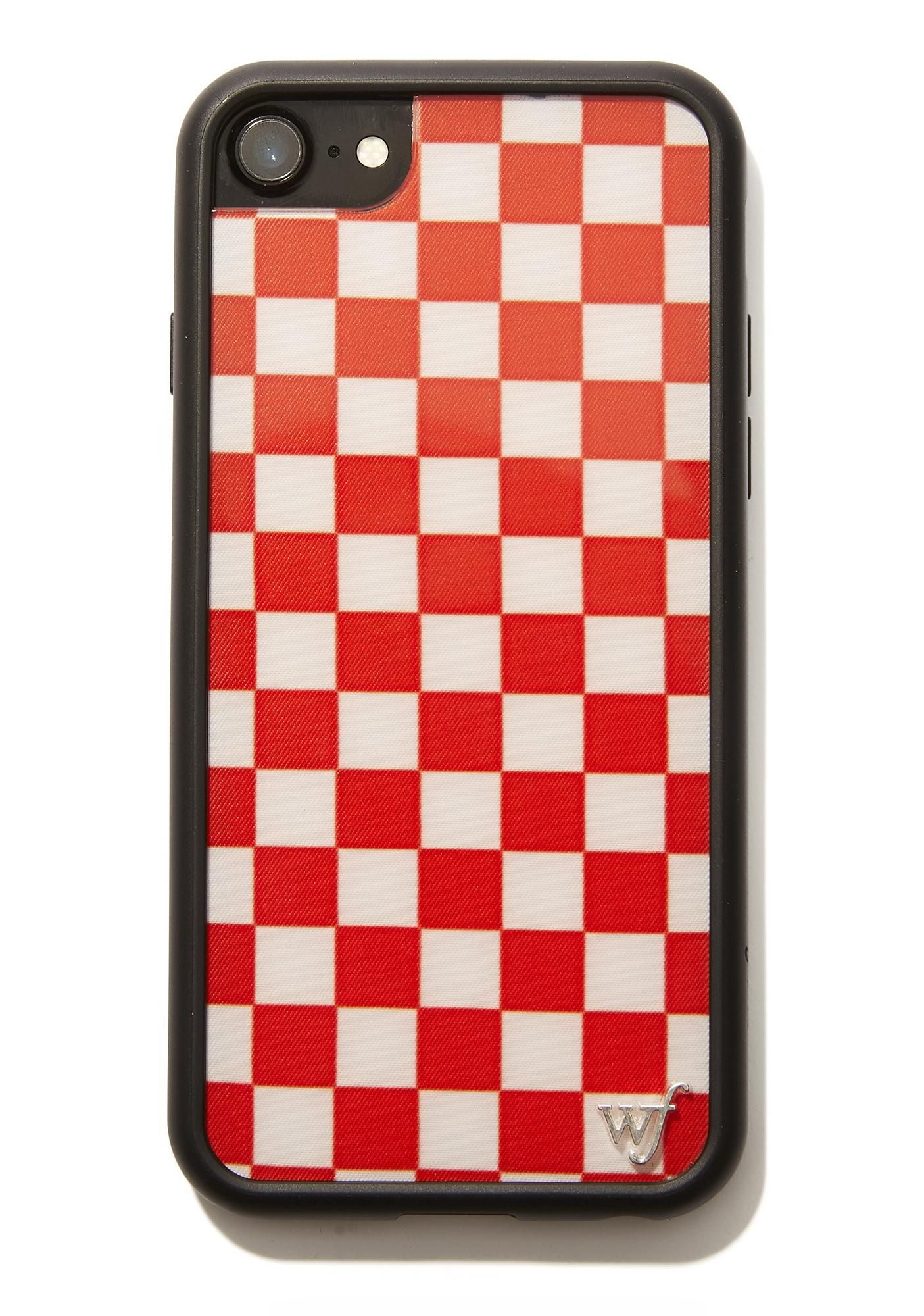 save off 153fd 64850 Red Checkers IPhone Case in 2019 | While Back @ Home | Iphone cases ...