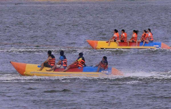 môn thể thao trên sông hàn
