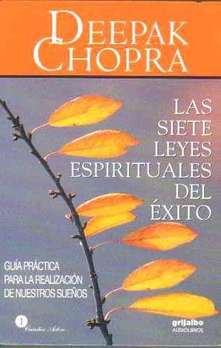Las Siete Leyes Espirituales Del Xito De Deepak Chopra Libros