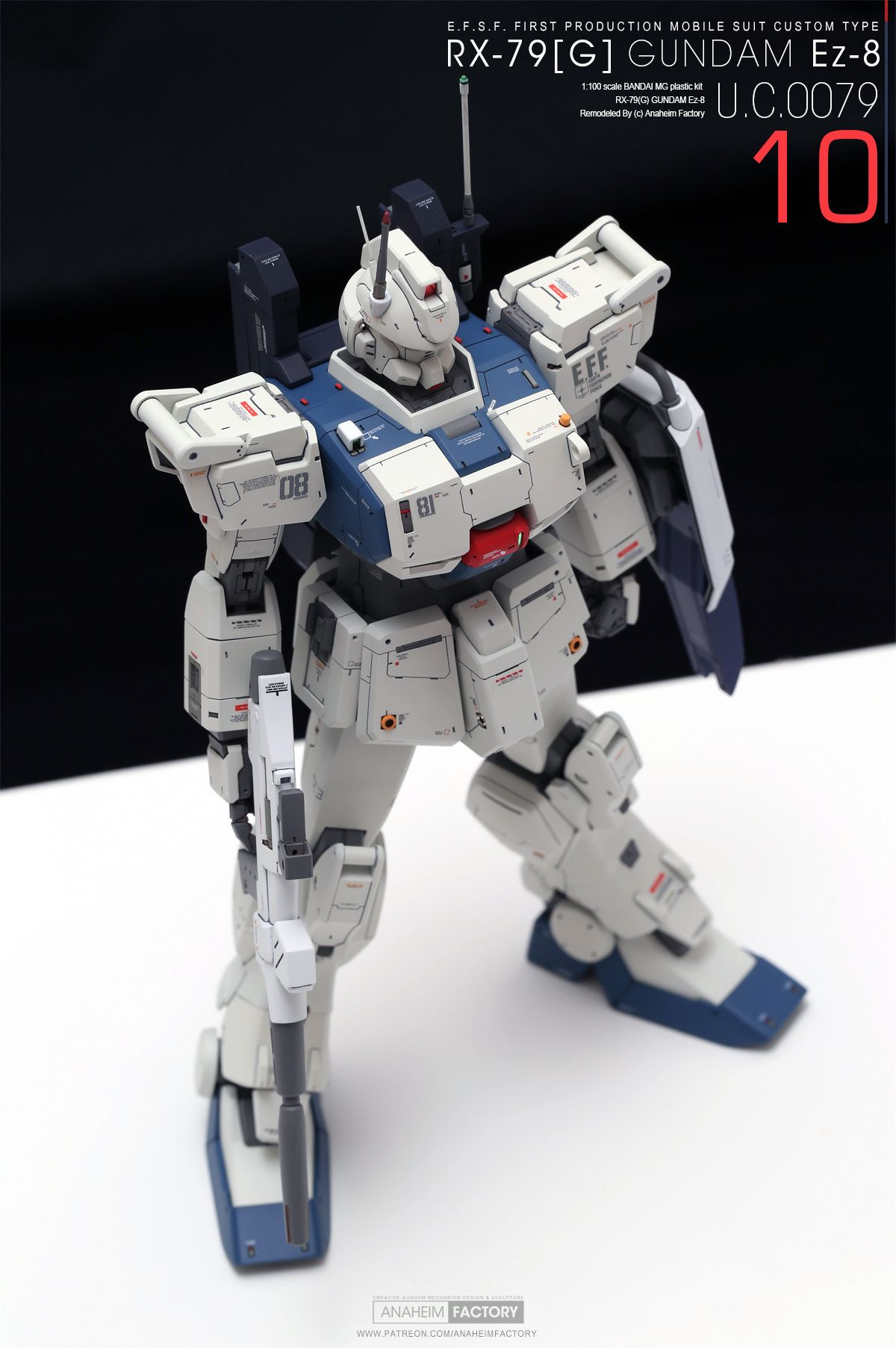 10 [ROLL OUT] RX79[G] GUNDAM Ez8 (With images) Gundam