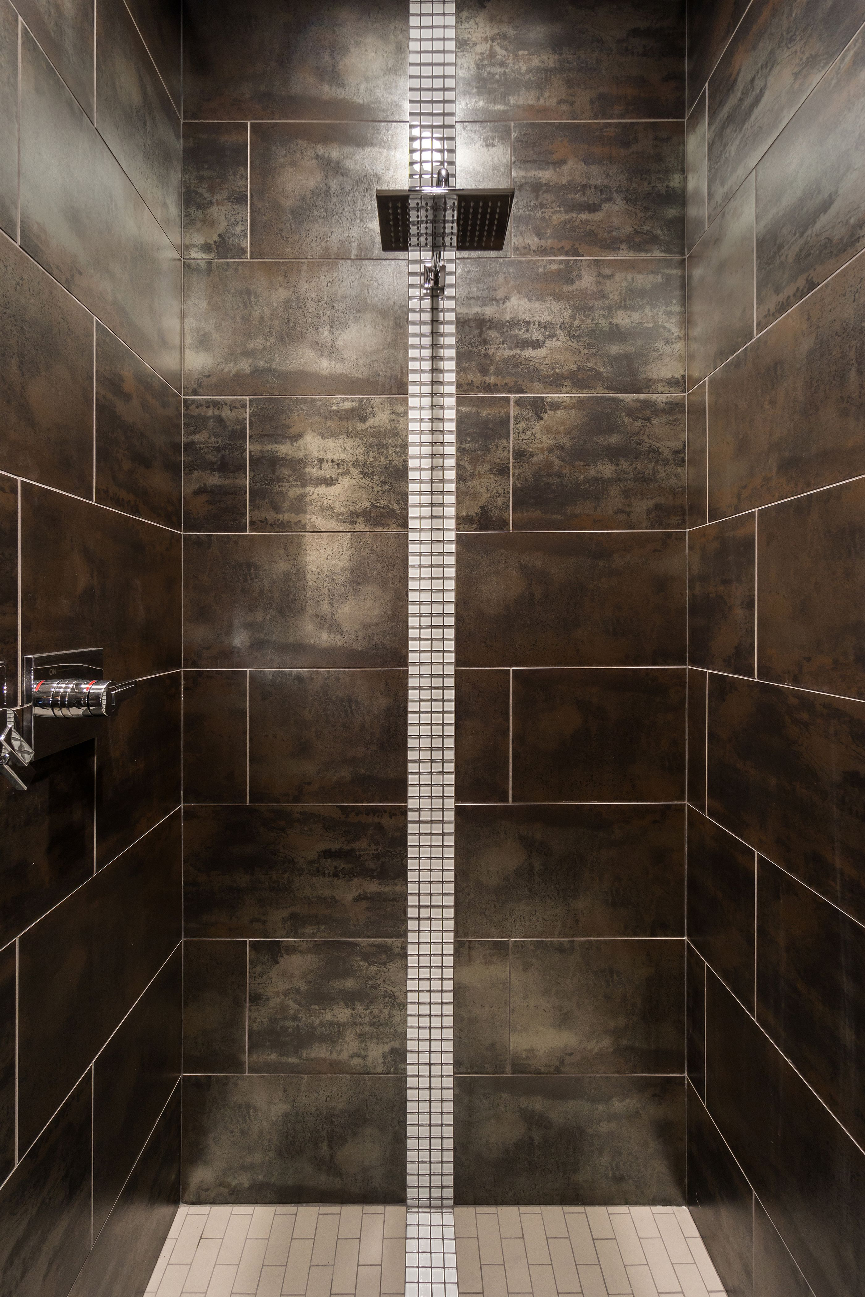 emser tile alchemy x porcelain fieldmetal tile in copper matte