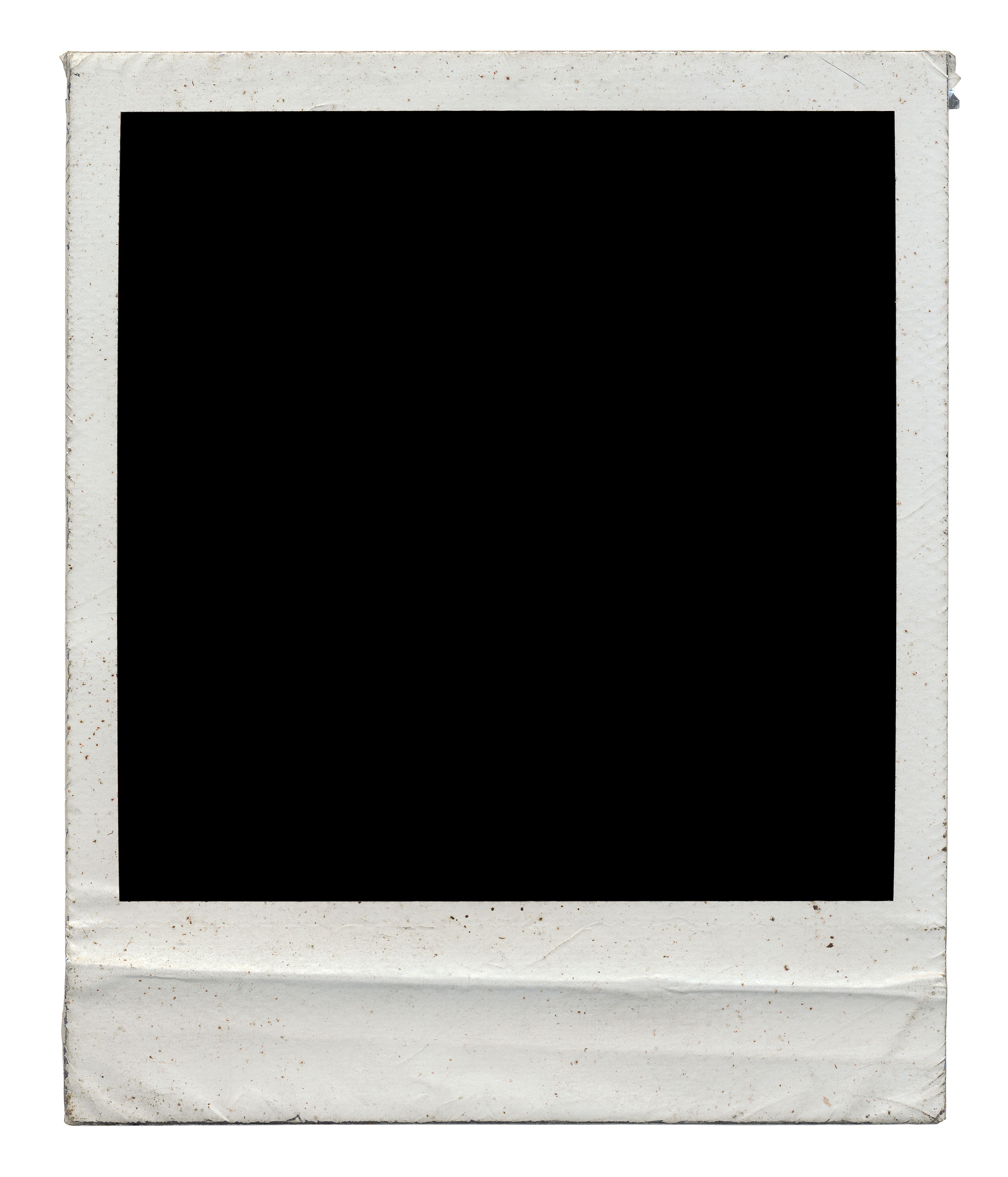 It S Really Dark Polaroid Frame Polaroid Frame Png Polaroid Template
