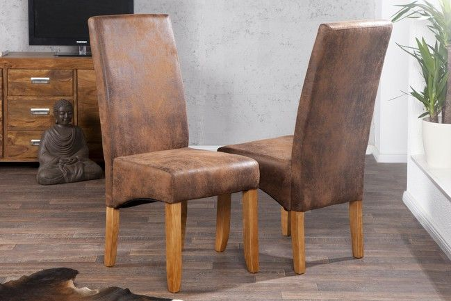 der edle stuhl valentino in braun in weiteren farben. Black Bedroom Furniture Sets. Home Design Ideas
