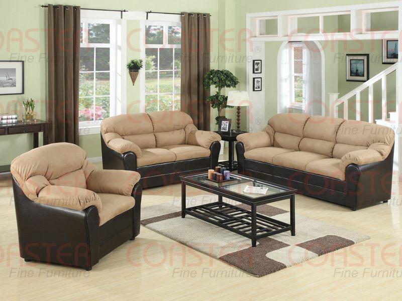 three piece living room set.  1876 2 Pcs Tan Leather Living Room Set Sofa and Loveseat by Global Furniture USA Sets Pinterest room sets set